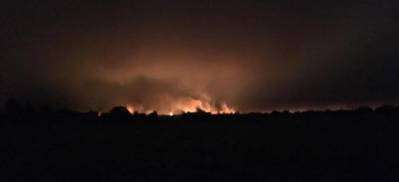 Fire in Santa Rosa