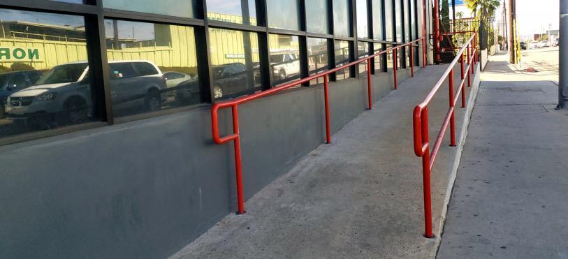 wheelchair ramp accessibility