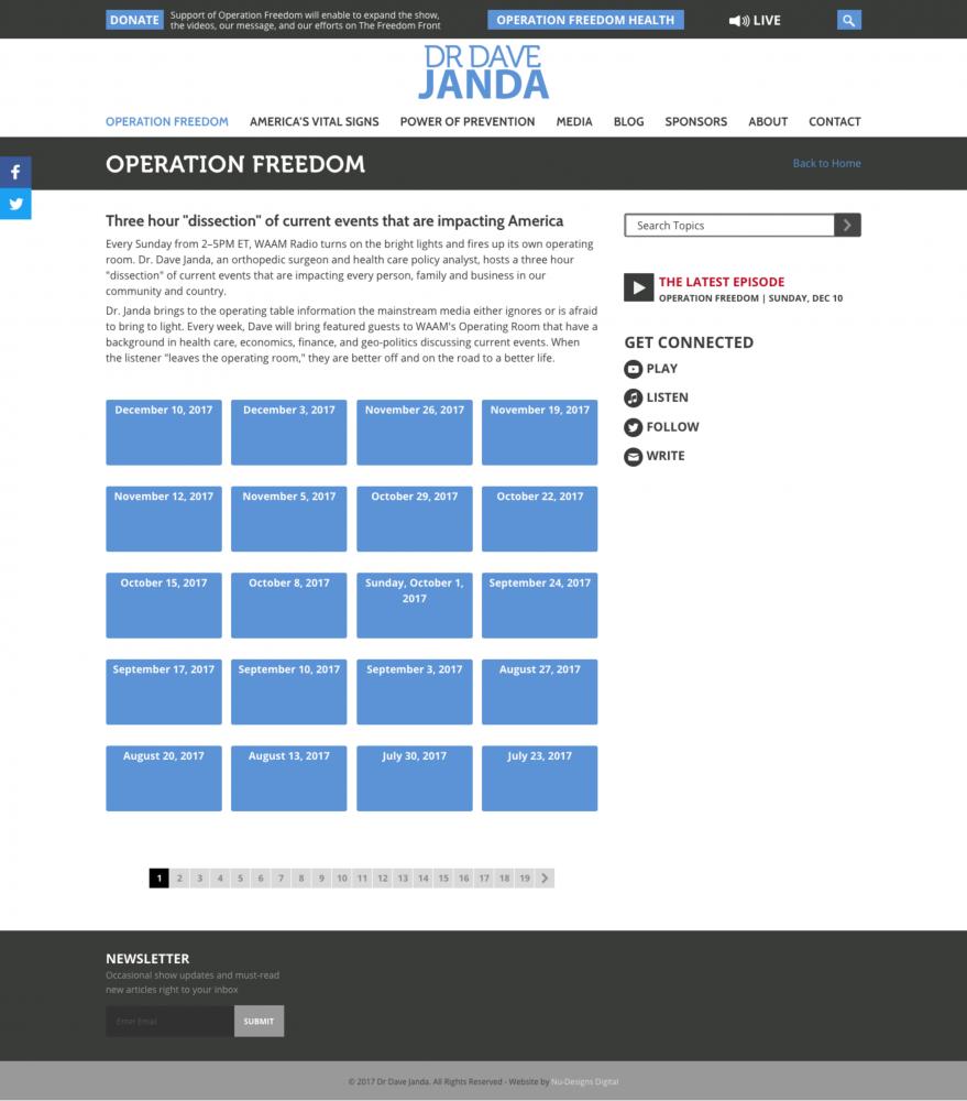Dr Dave Janda Nu Designs Digital