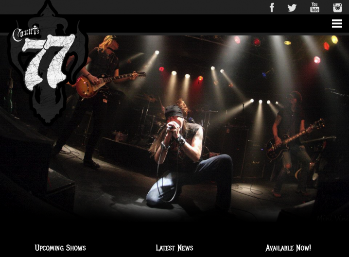 Counts 77 - Home page