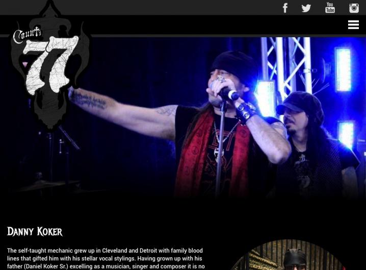 Counts 77 - Bio page