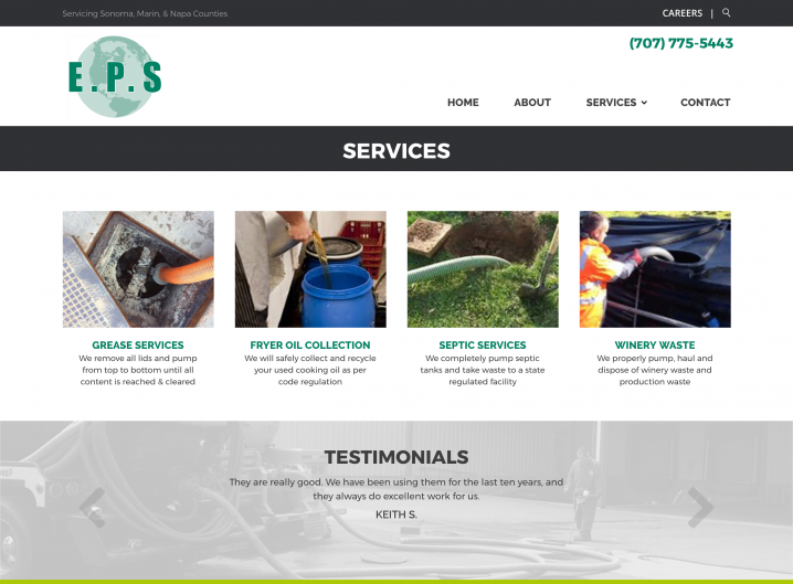 Environmental Pump Services services overview