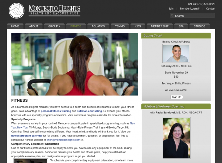 Montecito Heights Health Club - Fitness