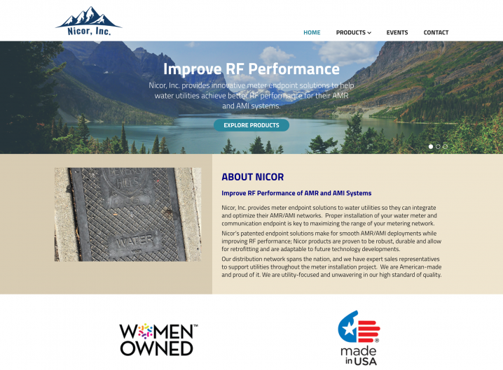 Nicor Inc. Homepage