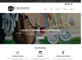 Bay Area Home Services home page