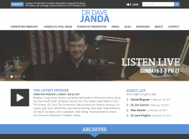 Dr. Dave Janda Home page