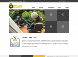 Direct Handyman Services Home page