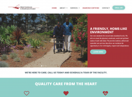 Marin Convalescent & Rehabilitation Hospital home page