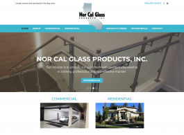 Nor Cal Glass Products homepage