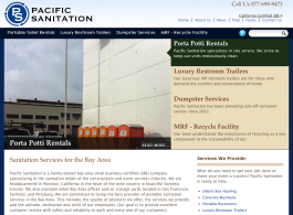 Pacific Sanitation - Home page
