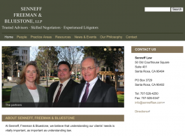 Senneff Freeman & Bluestone Law - Home page