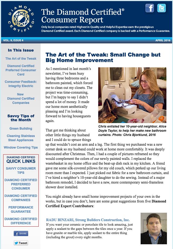 old e-newsletter
